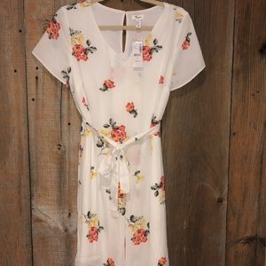 NWT Thyme Maternity floral dress size small
